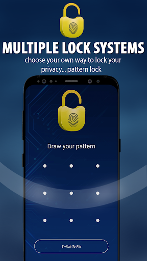Fingerprint Lock ,Pattern lock,App Lock,Call lock 1.1.0 screenshots 2