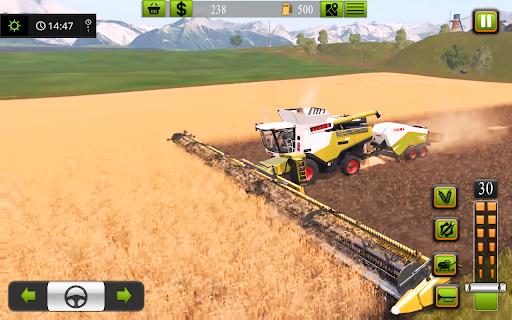 Supreme tractor farming - modern farm games 2021  screenshots 3
