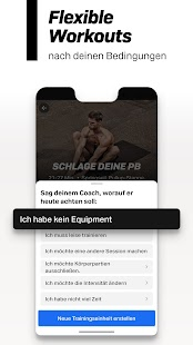 Freeletics Personal Trainer - workouts zuhause Screenshot
