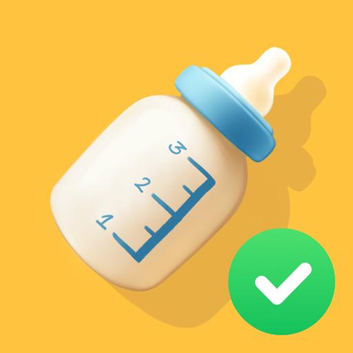 Diario del bebé. Registro de lactancia materna 👶
