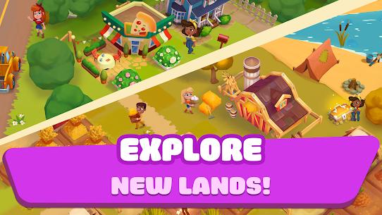 Ranchdale: township & village 2 farming games in 1 MOD (Unlocked) 2
