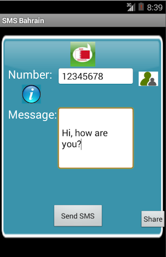 Free SMS Bahrain For PC Windows (7, 8, 10, 10X) & Mac Computer Image Number- 5