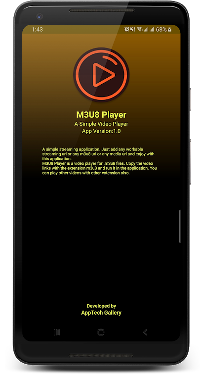m3u8 Player - A simple video player for m3u8 poster 6