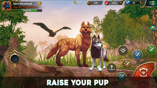 Wolf Tales - Online Wild Animal Sim 200198 screenshots 9