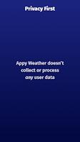 Appy Weather: Hyperlocal radar + Dark Sky weather