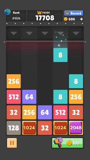 Drop The Numberu2122 : Merge Game  screenshots 4