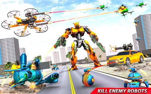 Drone Robot Car Transforming Gameu2013 Car Robot Games 1.1 Screenshots 2