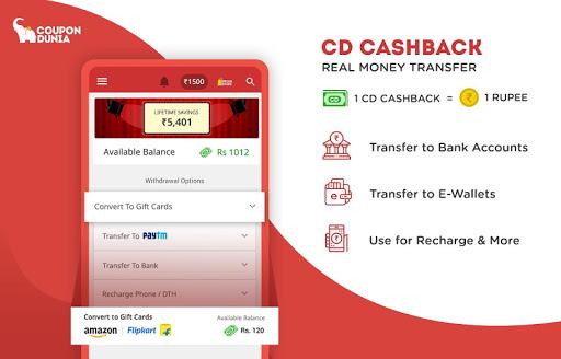 Online Coupons, Offers, Deals & Cashback  screenshots 2