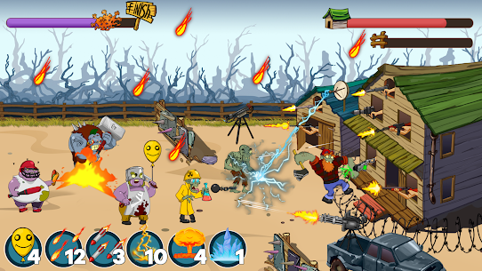 Zombies Ranch MOD APK (Unlimited Ammo/Money) 5