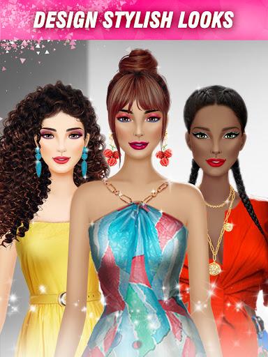International Fashion Stylist - Dress Up Games  screenshots 17