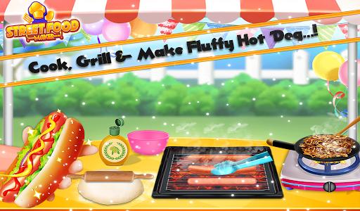 Street Food Pizza Maker - Burger Shop Cooking Game screenshots 13