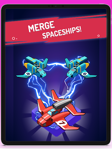 Merge Spaceships - Best Idle Space Tycoon modavailable screenshots 3