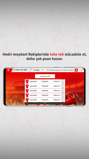 Petrol Ofisi Sosyal Lig APK MOD (Astuce) screenshots 4