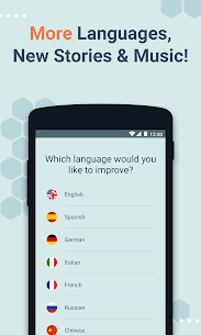 Beelinguapp: Learn Languages Music & Audiobooks Mod Apk v2.594 (Premium) 2