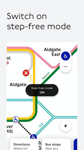 TfL Go: Live Tube, Bus & Rail android2mod screenshots 2