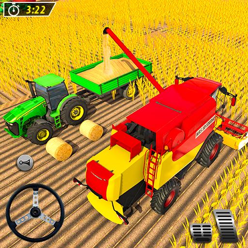 Tractor Game Farm Transport: Tractor Farming Sim