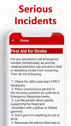 First Aid and Emergency Techniques 1.0.7 Screenshots 3