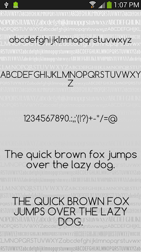 Fonts Clean for FlipFont® Free For PC Windows (7, 8, 10, 10X) & Mac Computer Image Number- 9