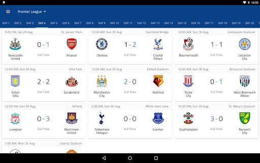 EPL Live: English Premier League scores and stats  Screenshots 10