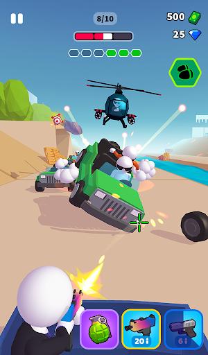 Rage Road - Car Shooting Game screenshots 11