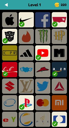 Logo Test: World Brands Quiz, Guess Trivia Game screenshots 1
