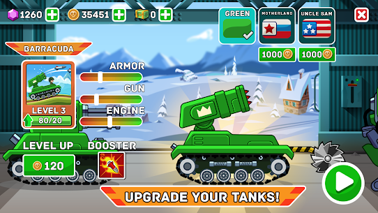 Hills of Steel MOD APK (Unlimited Coins) 3