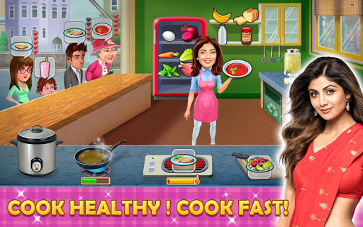 Kitchen Tycoon : Shilpa Shetty - Cooking Game Latest screenshots 1