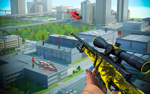 Modern Sniper Shot 3D : Real US Commando Mission 8