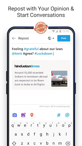 Dailyhunt - 100% Indian App for News & Videos 17.0.6 Screenshots 4