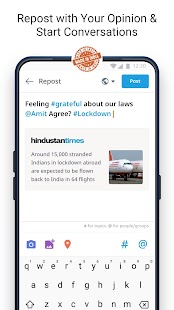 Dailyhunt - 100% Indian App for News & Videos Screenshot