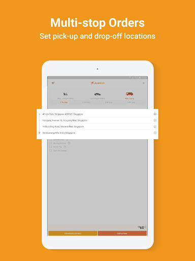Lalamove - 24/7 On-Demand Delivery App 103.5.1 Screenshots 11