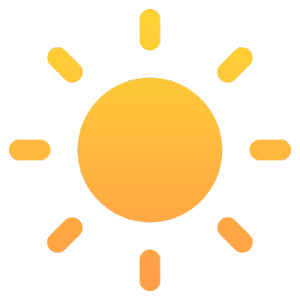 Flat Icons For GeometricWeather 1.0