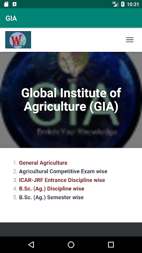 Global Institute of Agriculture  screenshots 7