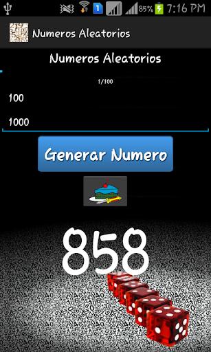 numeros aleatorios screenshot 2