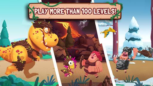 Dino Bash - Dinosaurs v Cavemen Tower Defense Wars 1.3.10 Screenshots 16
