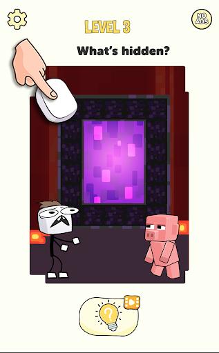 Stickman Craft - Brain Puzzle Games  screenshots 1