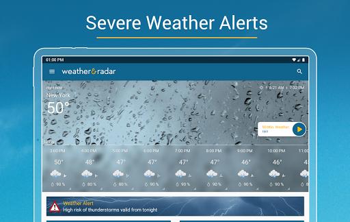 Weather & Radar USA - Storm alerts  Screenshots 17