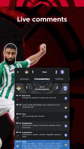 La Liga Official App - Live Soccer Scores & Stats 7.4.8 Screenshots 8