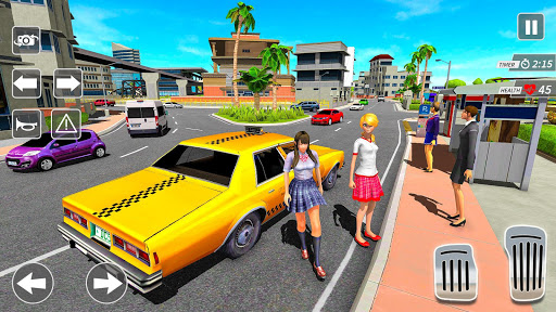 Taxi Driving Simulator City Car New Games 2021 0.3 screenshots 8