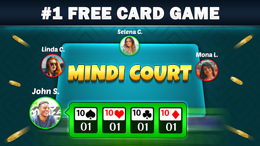 Mindi - Desi Indian Card Game Free Mendicot 9.6 screenshots 2