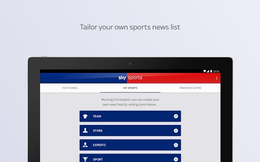 Sky Sports apktram screenshots 9