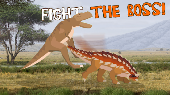 T-Rex Fights Stegosaurus 0.10 Pc-softi 4