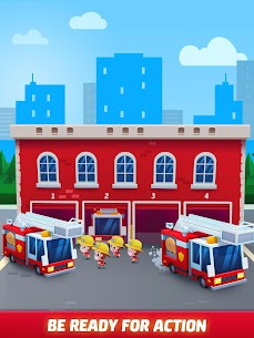 Idle Firefighter Tycoon APK , Fire Emergency Manager APK Download 19