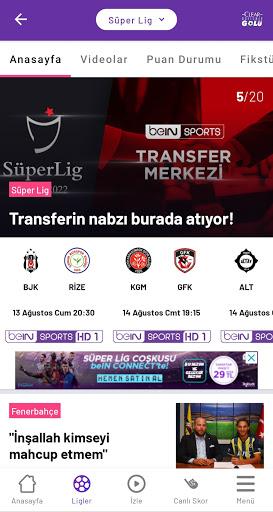 beIN SPORTS TR apktram screenshots 2