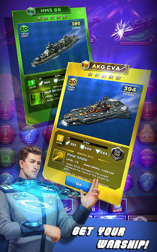 Battleship & Puzzles: Warship Empire 1.31.4 screenshots 11