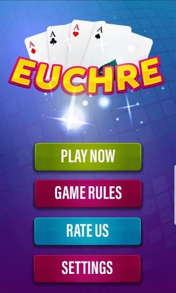 Euchre Card Game