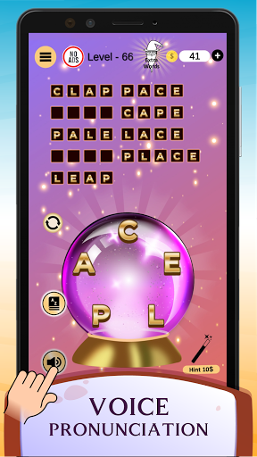 Word Wizard Puzzle - Connect Letters 4.1.7 screenshots 1