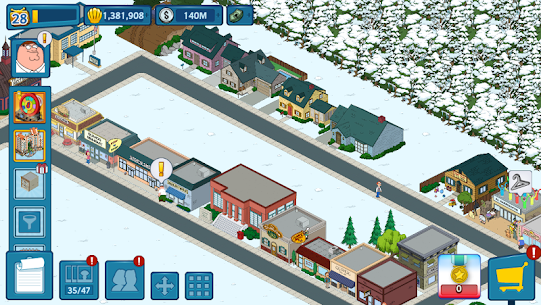 Family Guy: The Quest for Stuff MOD APK (Free Shopping) 5