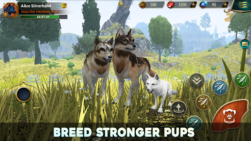 Wolf Tales - Online Wild Animal Sim 200198 screenshots 15