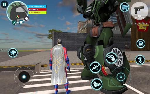 Superhero modiapk screenshots 1